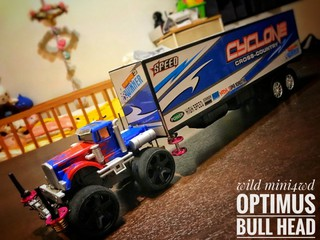 OPTIMUS BULL HEAD🚜