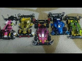 VS 4台+1台