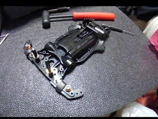 マシン製作 ARを組むよ!フロントにはAT