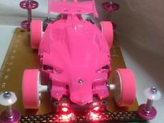 ピンクなアバンテ(MS簡易内蔵サス)