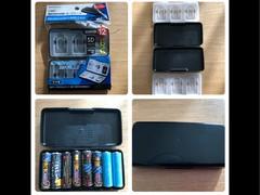 電池ケース(セリアSDカードケース)