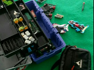 playing mini 4wd☺
