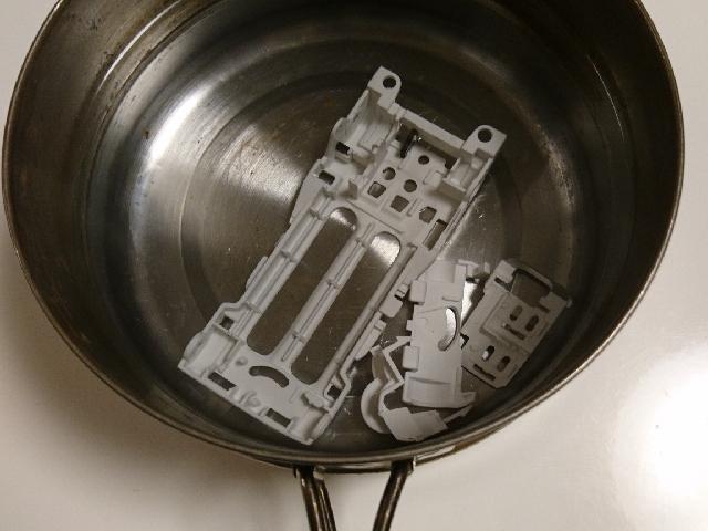 キャンプ用の鍋