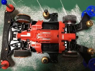 タイヤの当たり調整