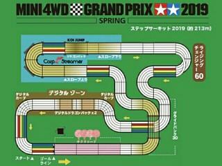 ミニ四駆グランプリ2019スプリング