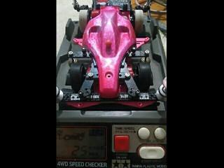 ノーマルモーター充電器テスト