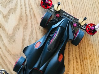 TZ-X shassis with MANTA RAY