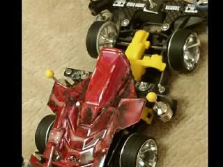 マーブル塗装車