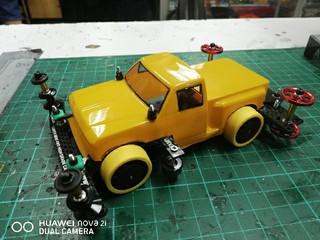 s2 truck yellow