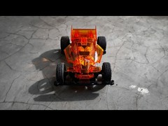 dash 1 emperor clear orange