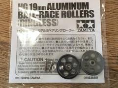 HG 19mm オールアルミベアリングローラー(ガンメタ)