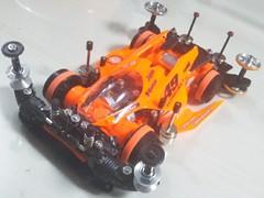 サンショーオレンジVSギミックマシン