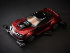 ROWDY BULL Red Sedan