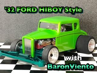 '32 FORD HOTROD HI-BOY  Style