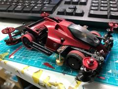 バンキッシュ Mazda クリスタルレッド