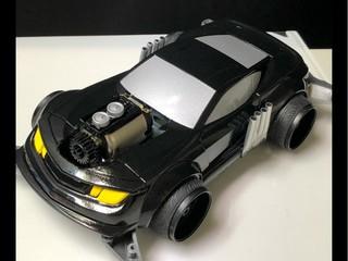 マッドマックス インターセプター スーパーチャージャー風 完成