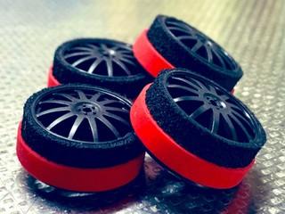 ハードタイヤ(赤)24.5mm
