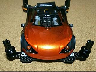 フレキ試作3号機 orange×black