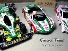 Castrol team