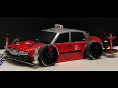 公式レース用 シャコタン★香港レーシングタクシー リメイク中