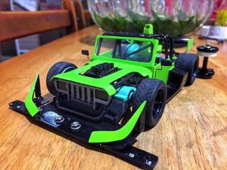 super 2 Hot rod jeep