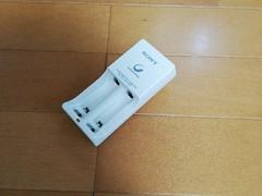 SONYの充電電池の充電器(マシンではない)