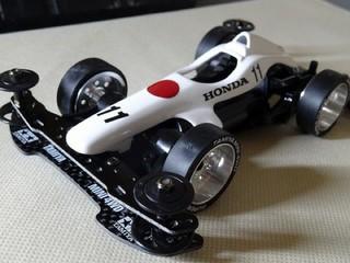 60年代ホンダ葉巻F1 RA272カラー