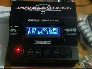 充電器44台目 セルマスターダブルアクセル