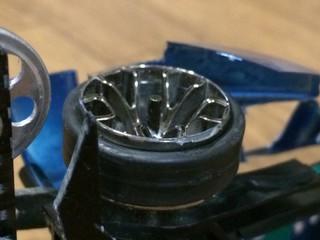 縮みタイヤ
