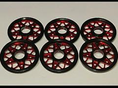 19Wアルマイト 黒X赤