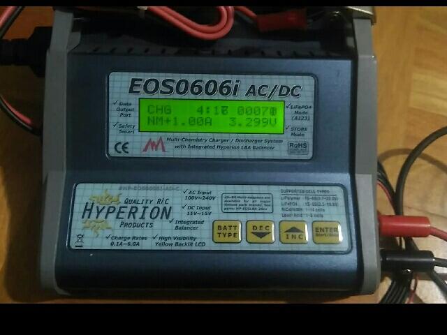 充電器46台目ハイペリオンEOS0606i AC/DC