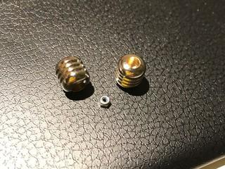 ヘビーマスダンパー (直径5mmのくぼみ)