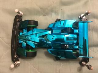 ブルーメッキサイクロンマグナム(TZ-X )