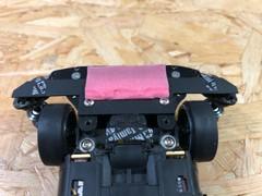 引っかかり防止ステー兼ブレーキスポンジ角度調整プレート作成!