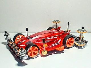 DCR-01 デクロスクリアーレッド&オレンジ