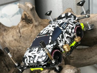 Yaris city camouflage special