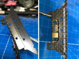 ATバンパーゴムリン保護ブレーキプレート