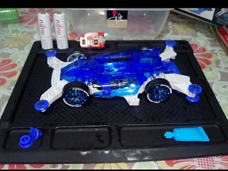 dcr-01 clear blue special