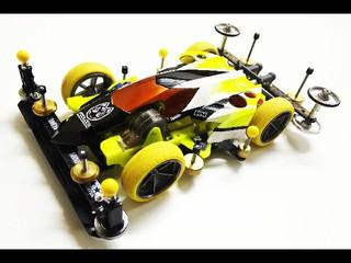 トライゲイル 片軸×無加工タイヤ×プラボディー×サイマス