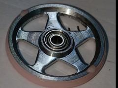 19mm Aluminum Rollers