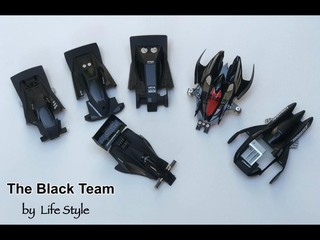 The Black team