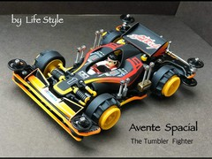 The tumbler fighter