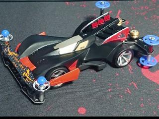 黒×赤 ビークスパイダー