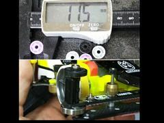 11.5mm 低摩擦ローラー