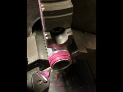 ローフリクション段付きペラタイヤ加工