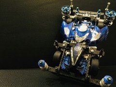 バックブレーダー クラック塗装