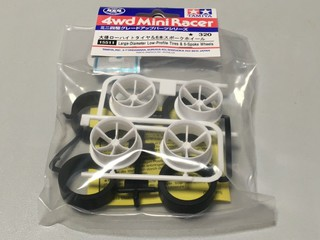 ITEM 15511 大径ローハイトタイヤ&6本スポークホイール