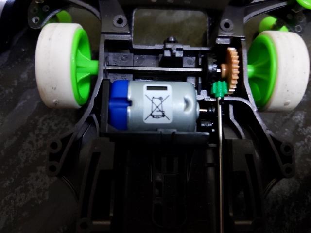 レブチューン2モーターとハイスピードギア