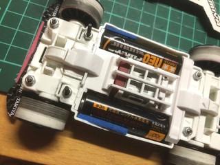 MS:電池ホルダーレスにブレーキ
