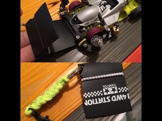 Portable catcher for mini4WD